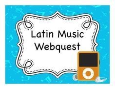 This webquest is perfect for introducing students to popular music in the Latino culture.  It can be used with any level of language student as it has a cultural focus rather than being strictly focused on the target language.  It also makes a great sub plan if students have internet access or if your classroom has 1:1 devices.In this webquest, students begin by finding out the top 10 latin songs for the current week, recording the information they find, and responding to some simple…
