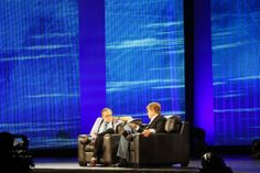 KPMG @ YPO 2014 Global EDGE Conference:   Larry King with Robert Redford at YPO EDGE.