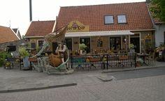 """26 mei 2015. Inn de Knip in Den Hoorn. Lekker eten in deze """"herberg""""."""