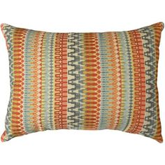 Better Homes and Gardens Woven Stripe Decorative Pillow, Orange - Walmart.com