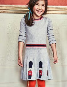 KNITTED ROYAL GUARDS DRESS