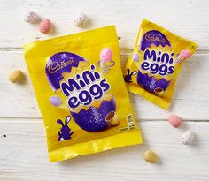 Mini Eggs - Rob Clarke Type Design & Lettering