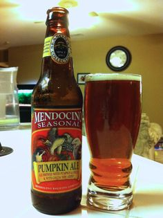 Mendocino Brewing Seasonal Pumpkin Ale
