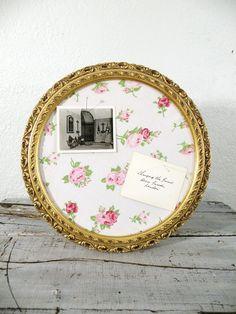 Vintage handmade message board. Craft party with @Maggie Steinmeyer,@Jenna McAtee, @Megan Zillinger Hossain