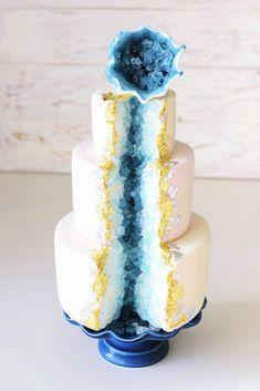 Crystal Cake - GEODEN TORTE - Tutorial