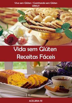 """O e-book Vida sem Glúten - Receitas Fáceis é um livro produzido com o material compartilhado no ORKUT, nas comunidades """"Viva sem glúten"""", de Isabela Campos Nagy e """"Cozinhando sem glúten"""", de Maria Rita Bello. Você encontrará receitas de biscoitos, bolos, doces, lanches, pães e muito mais! Conheça também o livro virtual 200 Receitas sem Glúten! Acesse: edz.la/9N5WU"""