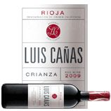 Le meilleur vin du monde 2012, en rapport qualité/prix...  Luis Cañas, Crianza, 2009