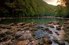 beautiful Kolpa, Slovenia