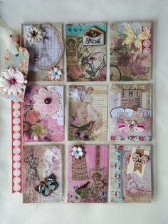 Vintage pocket letter by yvonne cunningham Pocket Pal, Pocket Cards, Diy And Crafts, Arts And Crafts, Paper Crafts, Pocket Envelopes, Envelope Lettering, Match Boxes, Flip Books