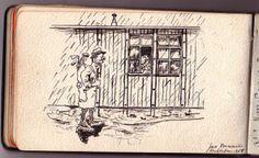 El campo de concentración de Ruhleben y la Primera Guerra Mundial: arte en los campos.