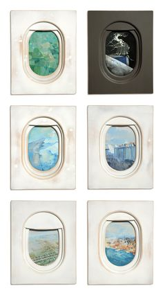 Art Sketchbook Ideas: Creative Examples to Inspire High School Students Airplane Art, Airplane Painting, Airplane Window, Gcse Art Sketchbook, Creative Landscape, Up Book, Grafik Design, Art Plastique, Art Lessons