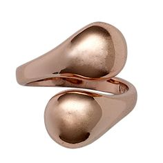 Mindfullness Ring, Justerbar, Rose gold plated, Pilgrim