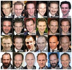 "theonewiththevows: "" The Evolution of: Ralph Fiennes """
