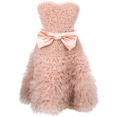 VIKTOR & ROLF full strapless bow dress ($6,245) ❤ liked on Polyvore