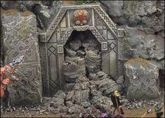Collapsed Dwarven Mine Entrance