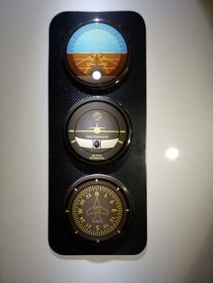 Carbon handmade flight indicators