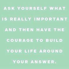 Build your life
