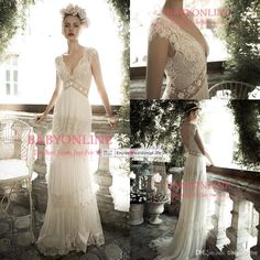 I found some amazing stuff, open it to learn more! Don't wait:http://m.dhgate.com/product/sexy-deep-v-neck-chiffon-lace-wedding-dresses/246178839.html