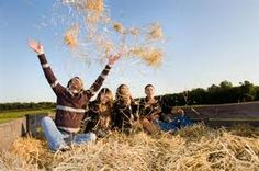 Hayrides best memories of younger days!!