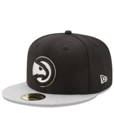pretty nice 4bc19 d80bb New Era Atlanta Hawks Pintastic 59FIFTY Cap   Reviews - Sports Fan Shop By  Lids - Men - Macy s