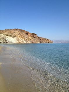 Molos beach, Paros island, Greece Love!!!