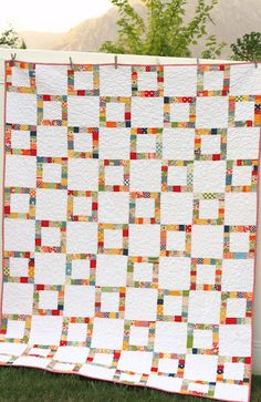 Diary of a Quilter - a quilt blog: Finished American Jane scraps quilt