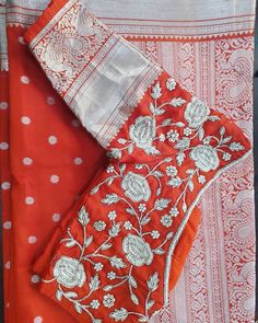 Designer kupaddam sarees 8500 Blouse can Coustamised as per your wish.saperately charged for blouse Interested people contact on 8749072903 Wedding Saree Blouse Designs, Pattu Saree Blouse Designs, Fancy Blouse Designs, Wedding Blouses, Sari Design, Hand Work Blouse, Maggam Work Designs, Embroidered Blouse, Blouse Desings