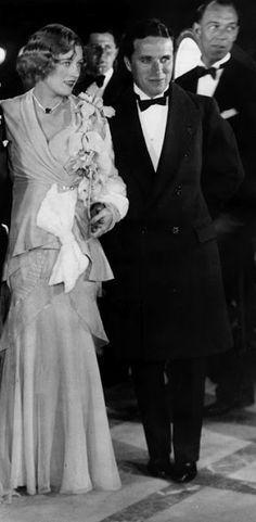 Charlie Chaplin with Marion Davies
