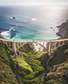 Explore the Magnificent Bixby Bridge! Travel California Photography