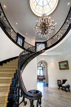 Gorgeous staircase.