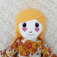 Check out this item in my Etsy shop https://www.etsy.com/au/listing/561864396/doll-handmade-fabric-rag-dolls-handmade