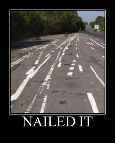 NAILED IT. LMFAO!!! I would pull over and think of an escape route...