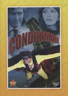 """MySF Short Short Reviews looks at the campy, spy-fi thriller """"Condorman"""", starring Michael Crawford before he became a household name as the Phantom of the Opera."""