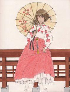 Hanbok by lllRaRes0uLlll on DeviantArt