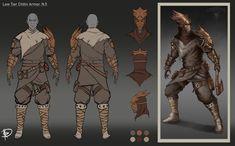 ArtStation - Beyond Skyrim: Dunmer Low Tier Chitin Armor Pack 2., Nicolò Rivello Elder Scrolls Morrowind, Number Two, Skyrim, Artwork, Work Of Art, Auguste Rodin Artwork, Artworks, Illustrators