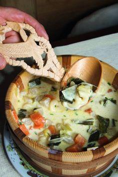 Swiss Recipes, Polenta, Parfait, Apple Pie, Cooking, Ethnic Recipes, Desserts, Global Food, Savory Foods