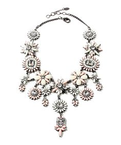 Rock Princess two-tone stone necklace by Amrita Singh on secretsales.com