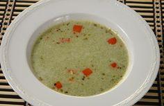 Cream of Broccoli Soup Recipe - A rich and delicious soup made with broccoli. Creamy Soup Recipes, Broccoli Soup Recipes, Cream Of Broccoli Soup, Veg Recipes, Vegetarian Recipes, Cooking Recipes, Fresh Broccoli, Recipies, Roasted Pepper Soup