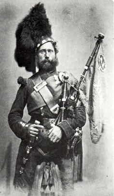 The feather bonnet is a type of military headdress used mainly by the Scottish Highland infantry regiments of the British Army from about 1763 until the outbreak of World War I. It is now mostly worn by pipers and drummers in various bands throughout the world.