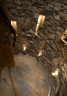 wine cellar circular stairs and wall lightingfabulous basement stairway lighting