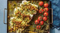 Recept: Krispig torsk i ugn - DN.SE Baking Recipes, Healthy Recipes, Healthy Food, Vegetables, Cooking, Cooking Recipes, Healthy Foods, Kitchen, Healthy Eating Recipes