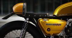 969 Suzuki T500 II Titan Cafe Racer by Norwegian Bård Hansen - Photo by Nicki Twang #motorcycles #caferacer #motos | caferacerpasion.com