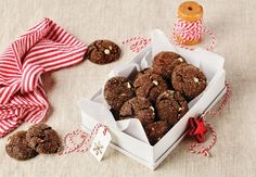 Get in the holiday spirit with this recipe for Chocolate Mint Sparkler Cookies No Bake Treats, No Bake Desserts, Yummy Treats, Cookie Exchange Party, Cookie Table, Holiday Baking, Christmas Baking, Christmas Cookies, Mint Chocolate