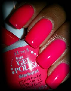 IBD Just Gel Starburst (deep neon pink)