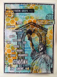 Darkroom Door: Welcome Home Card