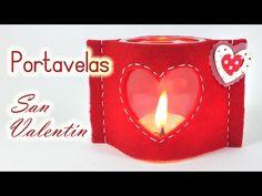 Manualidades para San Valentín ♥ CAJA de Regalo CORAZÓN ♥ (Fácil) - Innova Manualidades - YouTube