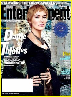 Entertainment WEEKLY April 1 - 8, 2016 Double Issue Thrones Lena Headey Cover