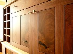 Walnut shaker drawer fronts | zReferences | Pinterest | Drawers ...