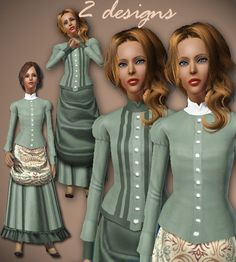 ALL ABOUT STYLE > Historical Female TEEN > Page 1