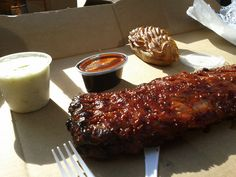 Baby Back Ribs - Carson's, Chicago, USA
